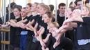 Енисейские зори Репетиция танца по мотивам картин В Сурикова