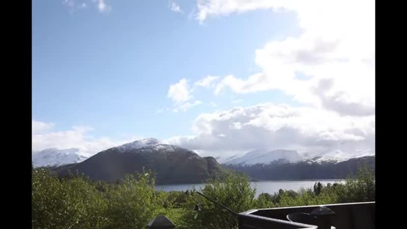 Как изменчива погода в Норвегии