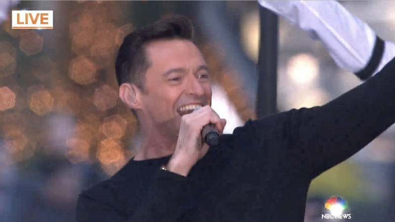 Hugh Jackman performs 'The Greatest Show' from The Greatest Showman on The Today Show
