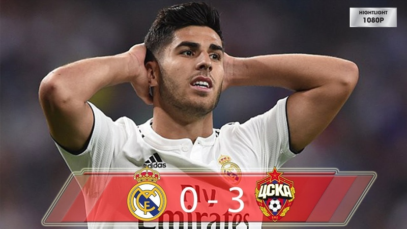 Real Madrid vs CSKA Moscow 0-3 Highlights All Goals (12/12/2018)
