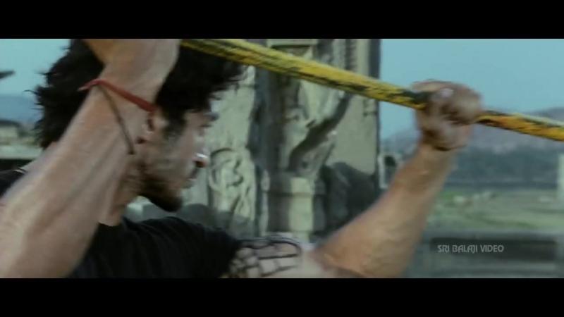 Shakti Movie Jr.NTR Vidyut Jamwal Action Scene _ Jr.NTR, Ileana _ Sri Balaji Vid