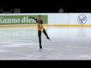 Александра Трусова -  КП, ЮГП Amber Cup  Kaunas 2018