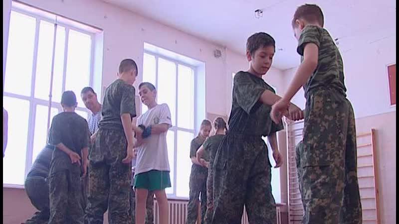 Воспитанники военно-патриотического клуба «Вымпел»