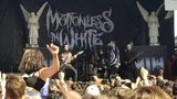 Motionless in White - Intro + Necessary Evil (Live) Pomona Vans Warped Tour 2018