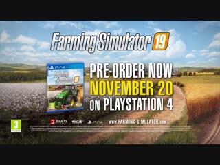 Farming Simulator 19 Garage Trailer PS4