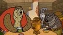 Лиса-Сирота дети мультфильм детское видео истории сказка Fox The Orphan Russian Cartoon