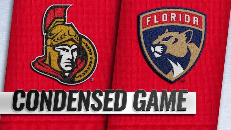 11/11/18 Condensed Game: Senators @ Panthers