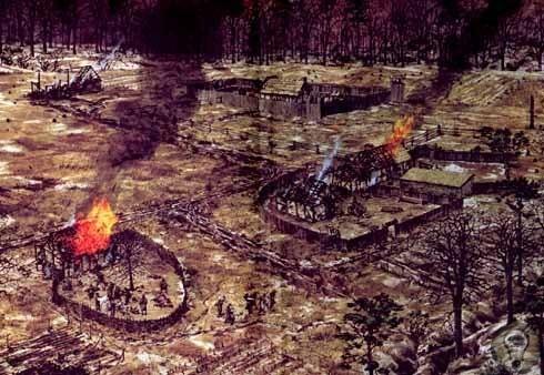 Джеймстаунская резня Индейская резня 1622 года событие, которое произошло в пятницу 22 марта 1622 году в британской колонии Вирджиния в Северной Америке, которая сейчас является частью