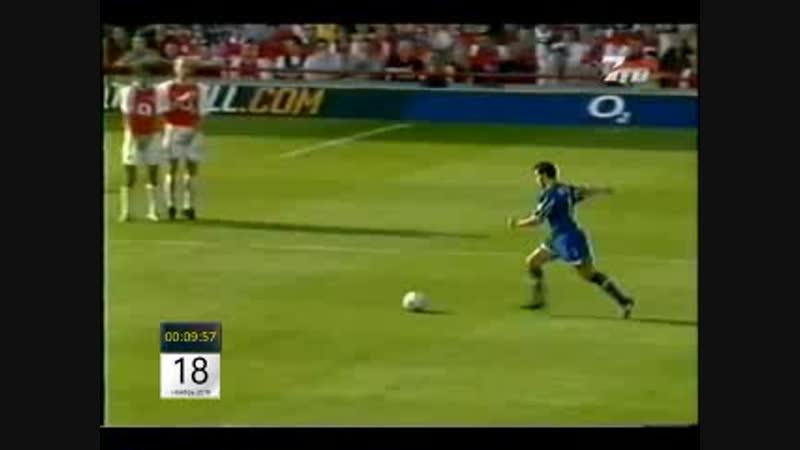 Чемпионат Англии 2002-03 Арсенал 1-2 Лидс