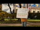 Достоевский проклянет : в Петербурге проходят пикеты за сохранение парка в Кузнечном переулке