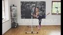 Балетная тренировка ягодиц со станком за 10 минут Подтяжка и шлифовка ягодиц Ballet Butt Workout With Barre in 10 Minutes ❤ Lift Sculpt The Glutes
