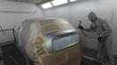 Подготовка и покраска после PDR. Nissan Juke часть 2