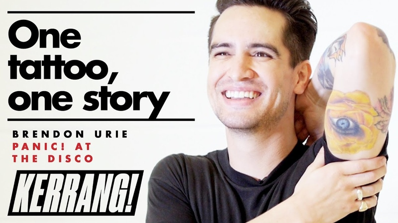 PANIC! AT THE DISCOs Brendon Urie - One Tattoo, One Story