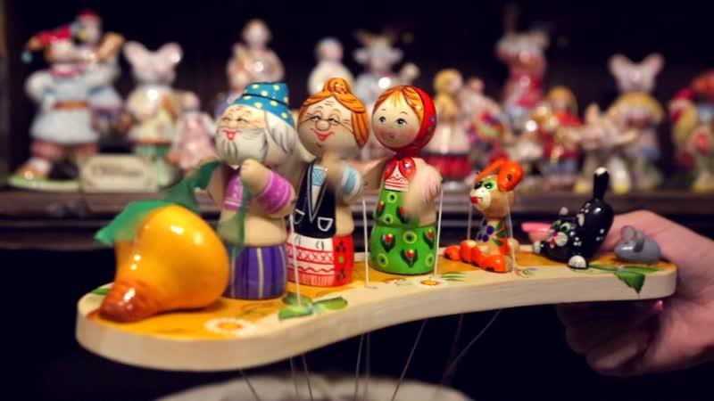Богородская игрушка в парке Лога́