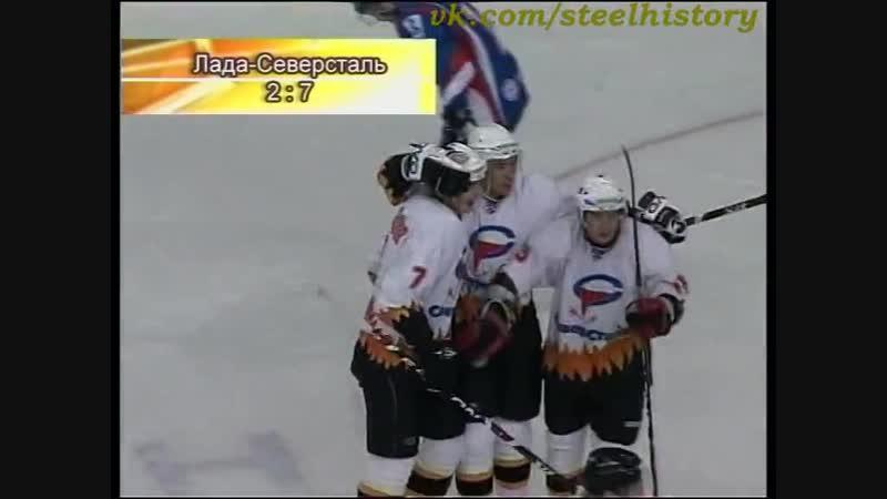 14.11.2008 КХЛ. Лада (Тольятти) - Северсталь (Череповец)