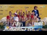 Сборная России в групповых упражнениях 5 обручей многоборье -- Чемпионат Мира София,Болгария 2018