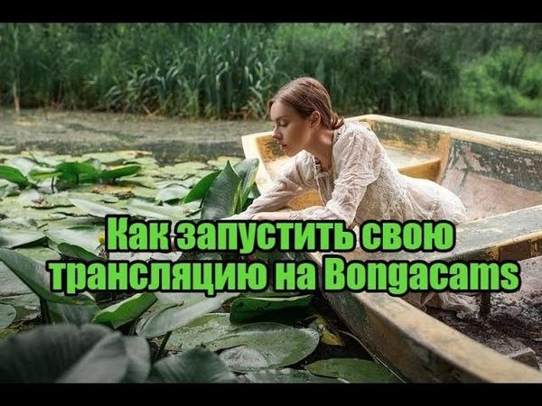 Как запустить свою трансляцию на Bongacams