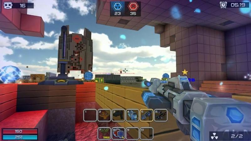 Кубезумие 3D FPS игра