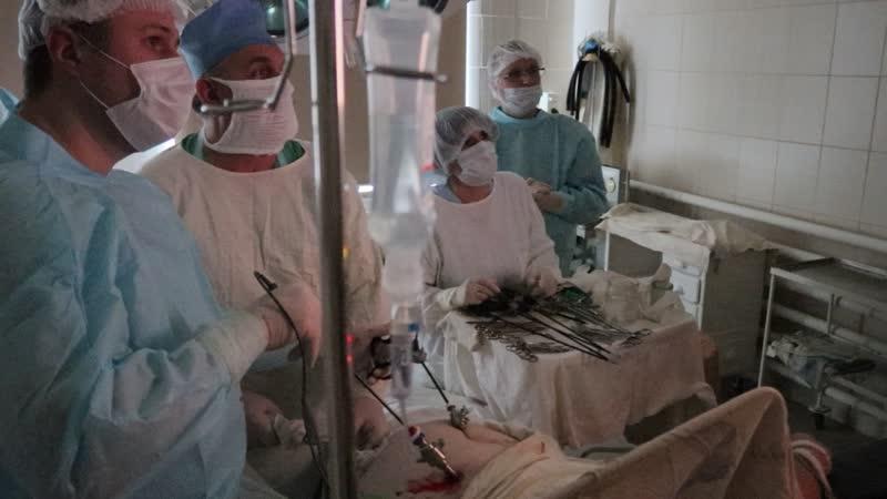 Эндоскопическая операция по удалению желчного пузыря в Трубчевской ЦРБ