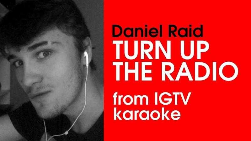 Cover Madonna - Turn up the radio   Daniel Raid