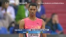 JUAN MIGUEL ECHEVARRIA (19 YEARS OLD) JUMP 8.66M PB - Ostrava Golden Spike 18