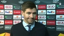 I'm blown away Beaming Steven Gerrard proud of his Rangers players