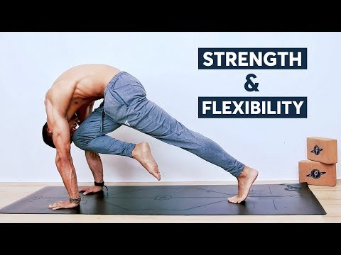 Yoga Routine For Strength Flexibility   ALL LEVELS (Follow Along)