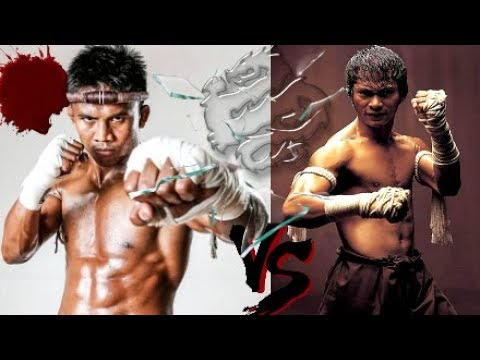 Buakaw VS TONY JAA! || 2 OF THE MOST BAD-ASS BUDDHIST MONKS Show Muay Thai Kickboxing Techniques☯!