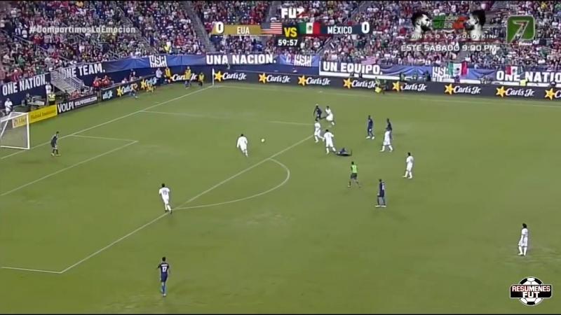 Estados Unidos vs Mexico 1-0 Resumen Completo Amistoso 2018