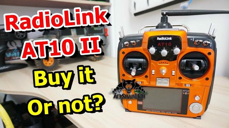Futaba 10CAG Rip off Radiolink AT10II 2.4Ghz 12CH DSSS FHSS RC Transmitter