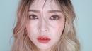 [Eng CC]💧새벽이슬 머금은 글로시 로즈 메이크업🌺 Glossy rose Make-up / 물광뿜뿜 / 건성쿠션5262