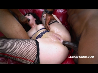 First time to LP Juicy sweet ass Mandy Muse in a beautifull DP full of gapes and balls deep action
