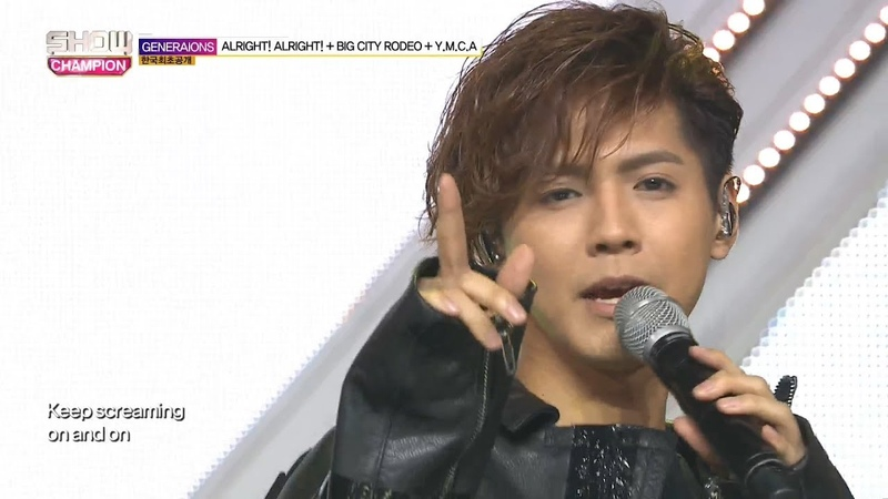 Show Champion EP.277 GENERATIONS from EXILE TRIBE - BIG CITY RODEOY.M.C.A