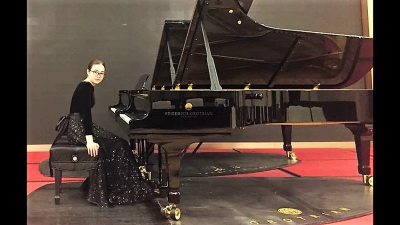16.08.2018 A. Stychkina: XI-th International F. Chopin Competition for Young Pianists, Foshan, China