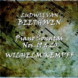 Wilhelm Kempff альбом Beethoven: Piano Sonatas Nos. 19 & 20
