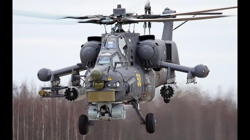 Elicotteri d'attacco corazzati Mi 28 e forze armate della Federazione - Российские ударные в