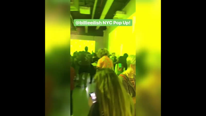 Billie's pop up shop in new york today
