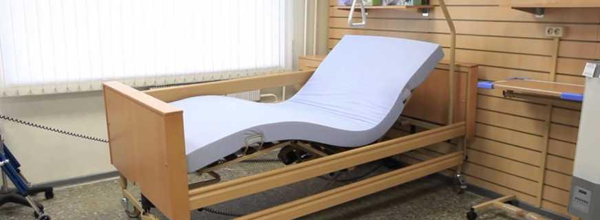 Какие существуют виды медицинского оборудования?функциональная кровать