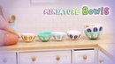 Doll Kitchen 15 DIY miniature Bowls 미니어쳐 그릇