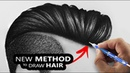 How I draw Hairs So Easily | Tutorial for BEGINNERS