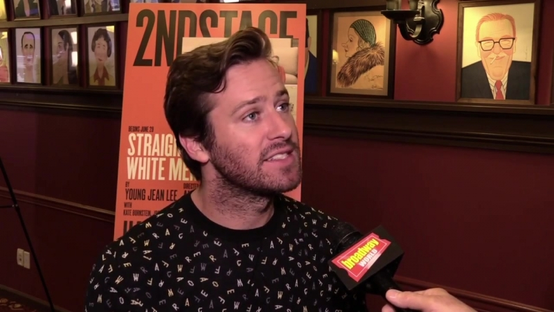 Armie Hammer, Josh Charles More Explain What STRAIGHT WHITE MEN Is All About!