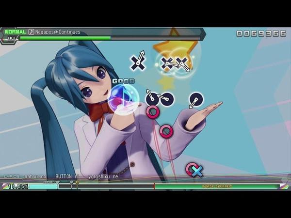 Hatsune Miku Project DIVA Future Tone - Negaposi*Continues (normal)