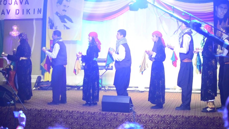 Youth Folklore Group Performance @ Newroz 2014 Event