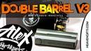 ПРЯМ МОЁ l Squid Industries Double Barrel V3 l from l Alex VapersMD review 🚭🔞