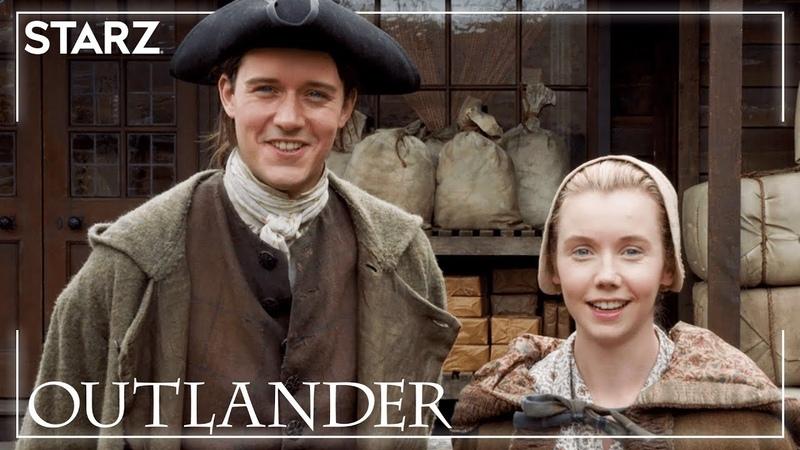 Outlander | Interview with César Domboy and Lauren Lyle | STARZ
