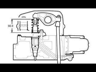 СКАНИЯ: регулировка клапанов и насос форсунок PDE (6 цилиндров)