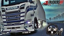🔴✅ [ ETS 2-Truckers MP] - Рейс12 по Европе и отчёты в нашей компании на VTCpanel . [Logitech G27] !