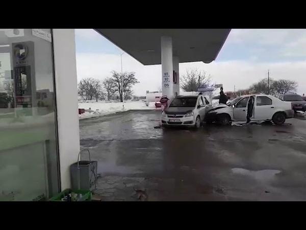 Accident la o stație PECO din Florești 2019