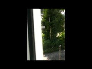 В Калининграде девушка разгуливала по улице нагишом