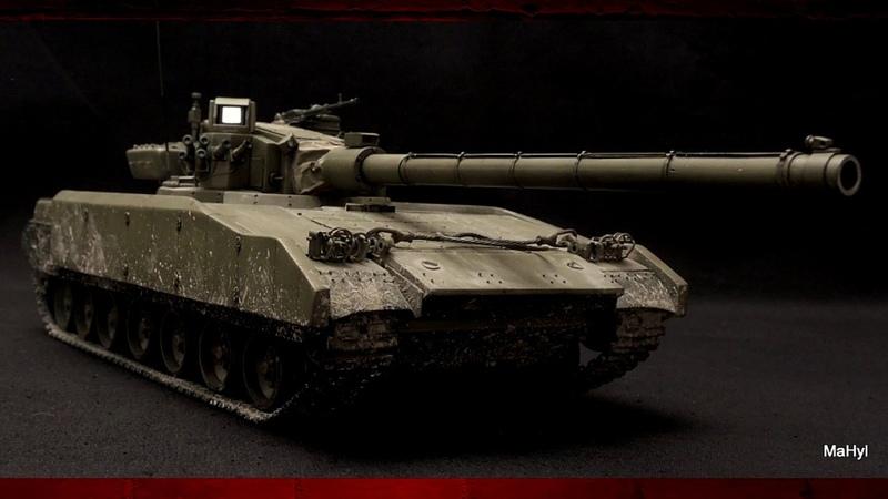 Укроборонпром возвращает к жизни секретную разработку танка «ОБЪЕКТ 477» «НОТА»